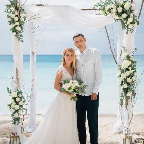 Наталия и Денис   WedDesign – Свадьба в Доминикане
