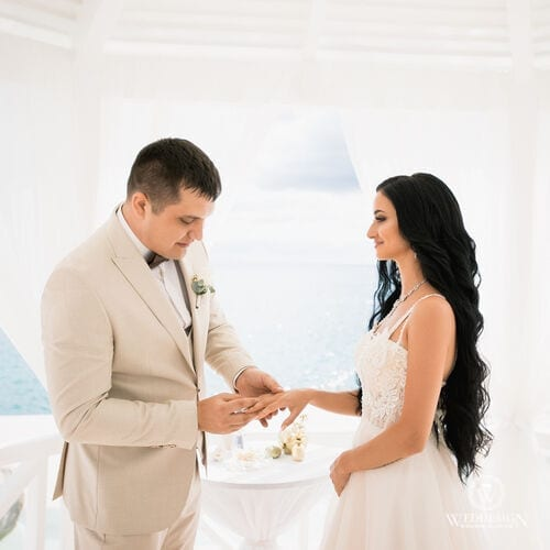 Вячеслав и Анжела   WedDesign – Свадьба в Доминикане