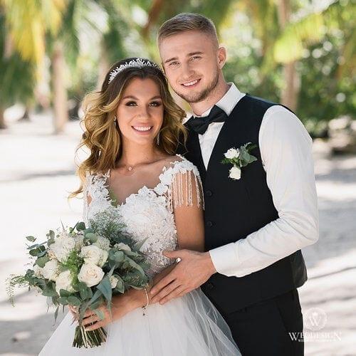 Денис и Анастасия   WedDesign – Свадьба в Доминикане