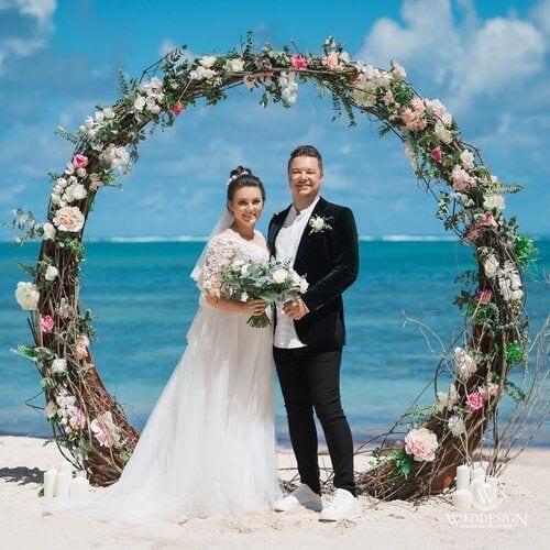 Дмитрий и Анна   WedDesign – Свадьба в Доминикане