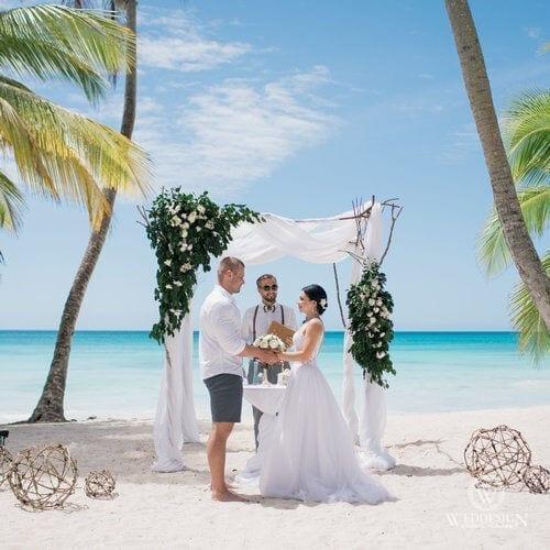 Максим и Татьяна   WedDesign – Свадьба в Доминикане
