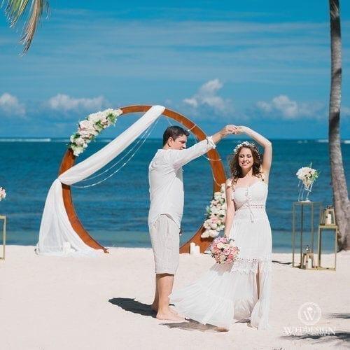 Raphael & Priscila   WedDesign – Свадьба в Доминикане