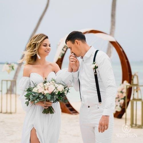 Татьяна и Александр   WedDesign – Свадьба в Доминикане
