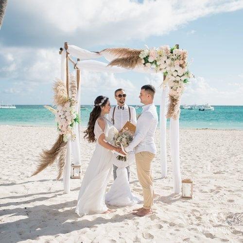 Владислав и Лейла   WedDesign – Свадьба в Доминикане