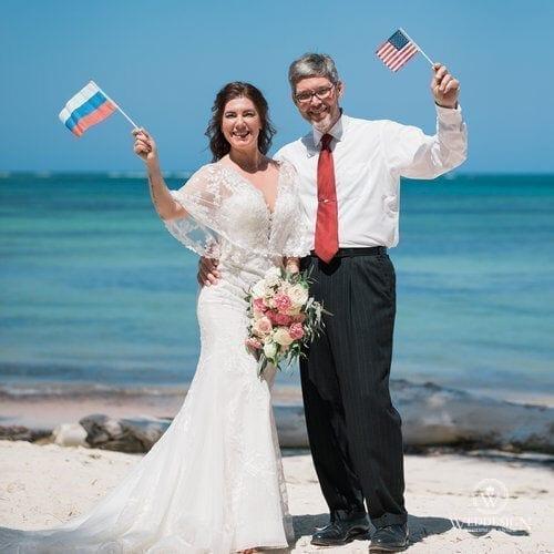 Яна и Скотт   WedDesign – Свадьба в Доминикане